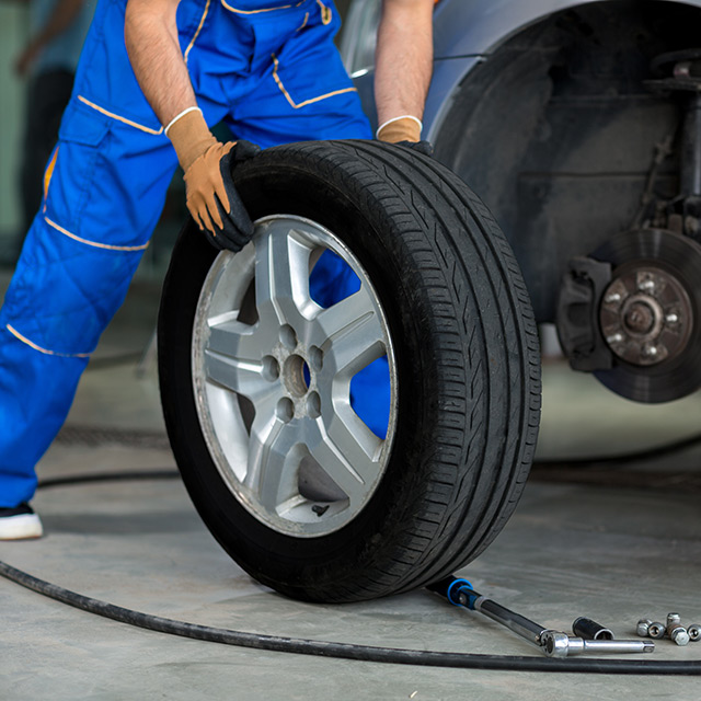 Preventative Maintenance and tire repair