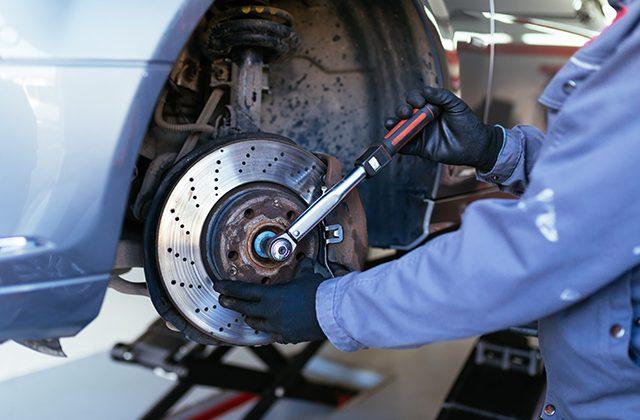 brake repair and service maintenance